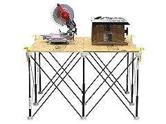 4' x 4' 9-Strut Work Support Sawhorse