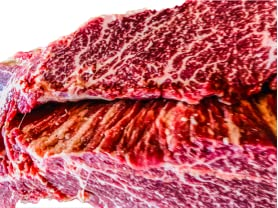 Huntspoint Wagyu Flap Meat, 4lbs