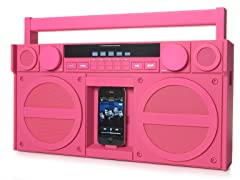 Portable Stereo Boombox for iPhone/iPod