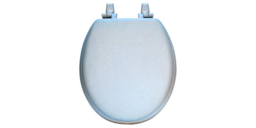 17 Inch Round Plain Painted Toilet Seat