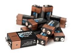 Duracell 9V Ultra Lithium - 10 Pack