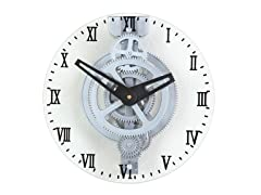 Gear Wall Clock - Gear Style 8888 Glass Lens