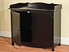 TMS Farmhouse Buffet Black