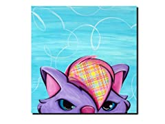 Sassy Kitty 14x14 Canvas