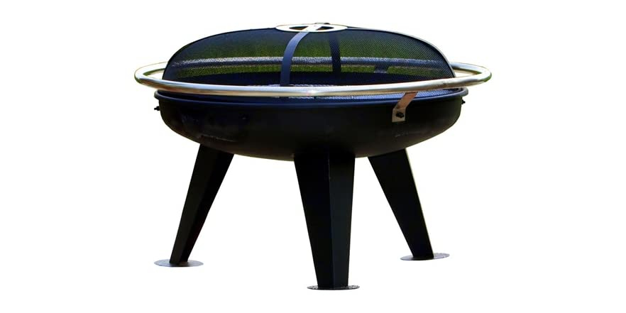 Urban 650 fire pit black steel for Amazon prime fire pit