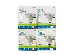 Bluetooth Smart HomeBrite Flood Light Bulb (4-Pack)