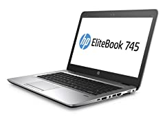 "HP EliteBook 745-G3 14"" A8 128GB Notebook"