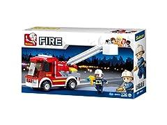 Sluban Kids Fire Truck Building Blocks