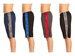 Men's Active Pocket Shorts 4-Pack