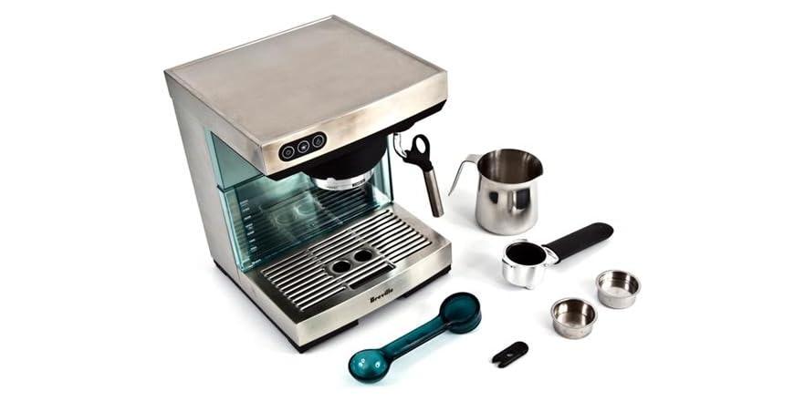 dba6e40754 Breville BES400XL Ikon Espresso Machine