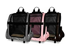 Furhaven Pet Backpack-Roller Carrier