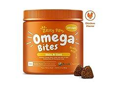 Omega 3 Alaskan Fish Oil Chews for Dogs