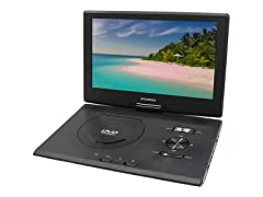 "Syvania Portable DVD Player w/ 13.3"" Swivel Screen"