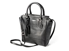 Coach Legacy Mini Tanner Crossbody in Leather, Blk