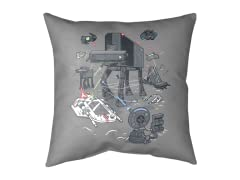 Console Wars II Medium Floor Pillow