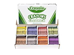 400 ct. Large Crayons Classpack® in 8 Colors