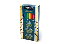 Sargent Art 36 Colored Pencils