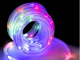 LED Concepts Solar LED Rope Lights