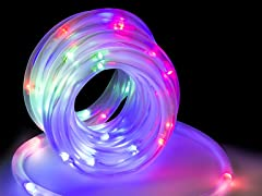 16-feet 50 LED Solar Rope Tube Light