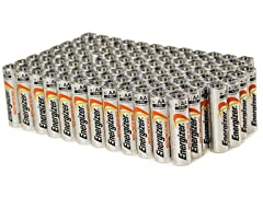 Energizer Advanced AA Alkaline Batteries - 100pk