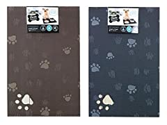 2Pk Pet Place Mats Rectangle