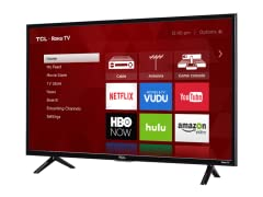 TCL Wi-Fi Connected Roku Smart TVs