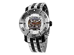 Men's Skeleton Automatic Watch