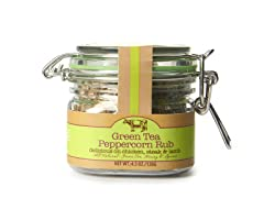 Green Tea Peppercorn Rub