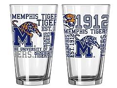 Memphis Spirit Pint Glasses (2)