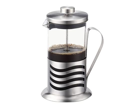 french press coffee maker 2 sizes. Black Bedroom Furniture Sets. Home Design Ideas