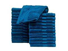 Casa Platino 100% Cotton Washcloths-24 Pack