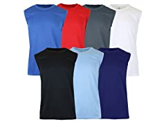 Men's 6-Pack Assorted Muscle Tee