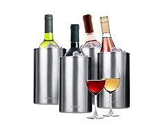 Secura Wine Cooler Bucket -Set of 4