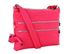 Alvar Shoulder/Cross-Body Travel Bag, Vibrant Pink
