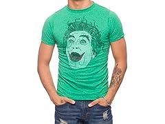 Batman Tv Series Joker Laughing T-Shirt