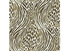 Brown & Gold Fierce Peel & Stick Wallpaper