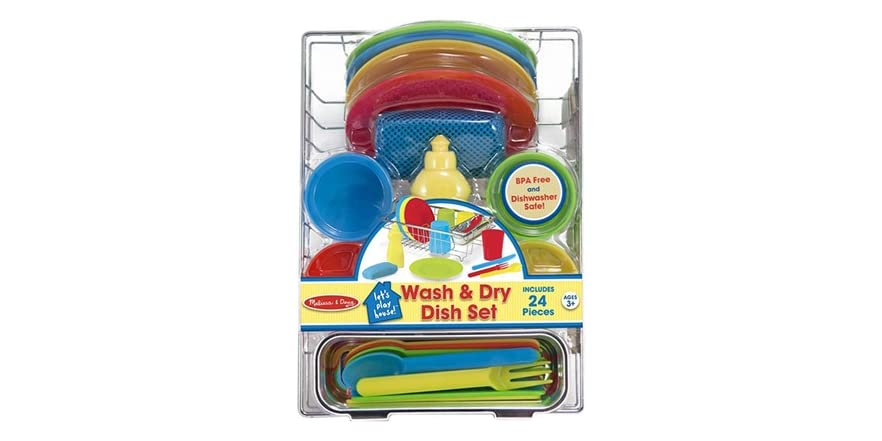 melissa doug let 39 s play house kitchen bundle kids toys. Black Bedroom Furniture Sets. Home Design Ideas