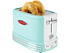 Retro 2-Slice Bagel Toaster (Aqua)