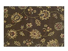 Avery Brown/Gold Area Rug (4 Sizes)