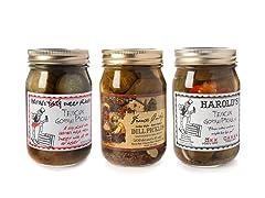 Gourmet Pickle Trio-16oz each