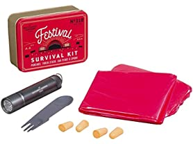 Gentlemen's Hardware 6Pc Music Festival Survival Kit
