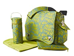 Kalencom Diaper Bag - Ripstop Green