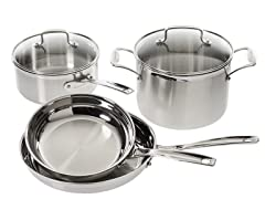 Cuisinart Pro Stainless Steel 6-Piece Cookware