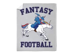 """Fantasy Football"" Blanket"