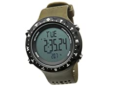 Men's Singletrak Grey Digital Watch