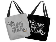 Math Makes Me Numb(er) Medium Tote Bag