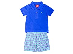 Royal Blue 2-Piece Short Set (12-24M)