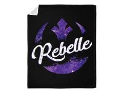 """""""I'm a Rebelle"""" Blanket"""