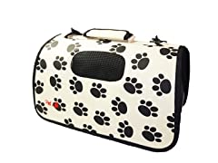 Airline Approved Pet Carrier - Paw Print