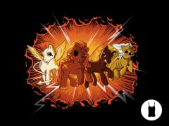 Four Little Ponies of the Apocalypse Ladies Tank